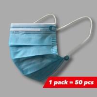 3 slojne medicinske maske za enkratno uporabo št. 21 (50 kosov / škatla) – unisex