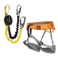 Climbing set for via ferrata FERRATA PACKET RAY