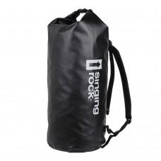Vodotesna torba - 60 litrov, črna