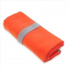 Brisača YATE Fitness Dryfast velikosti L 50x100 cm losos