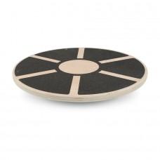 YATE ravnotežna plošča - lesena, okrogla