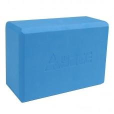 YATE yoga blok - 22,8x15,2x7,6 cm Modra