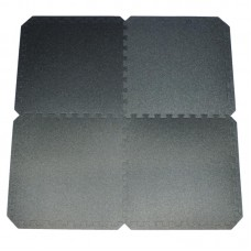 Tatami gumirana podloga 55 x 55 x 0,8 cm, komplet 4 kosi, črna