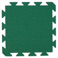 Preproga iz pene, temno zelena 29 x 29 x1,2 cm