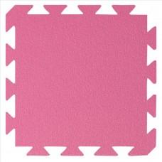 Preproga iz pena, roza - svetlo zelena 29 x 29 x1,2 cm