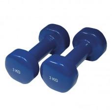 YATE uteži PVC 3,0 kg / par