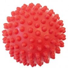 Masažna žogica  - 9 cm - rdeča