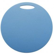 Okrogla sedežna podloga 1- plast, modra