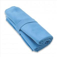 Brisača Fitness Dryfast velikosti L 50x100 cm svetlo modra