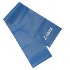 Vadbena elastika FIT BAND 120 x12 cm, zelo trda / modra