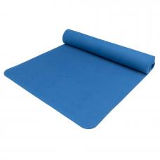 Yoga Mat TPE - temno modra