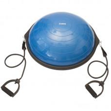 Napihljiva ravnotežna pol žoga + set elastik + tlačilka