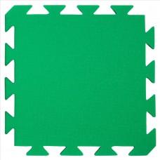 Preproga iz pene, svetlo zelena - črna 29 x 29 x 1,2 cm