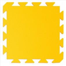 Preproga iz pene, rumena - oranžna