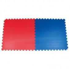 TATAMI podloga GYM 20 modra / rdeča, 1m x 1m x 2cm