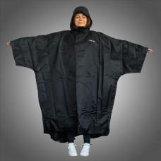 Trekmates Deluxe PAK dežni plašč - črn