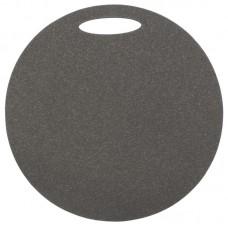 Okrogla sedežna podloga 1- plast, siva