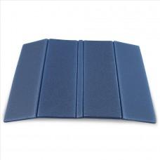 Zložljiv sedežna podloga - temno modra