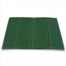 Zložljiv sedežna podloga - temno zelena