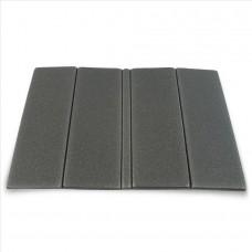 Zložljiv sedežna podloga - siva