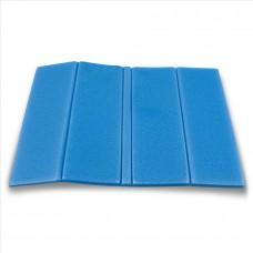 Zložljiv sedežna podloga - svetlo modra