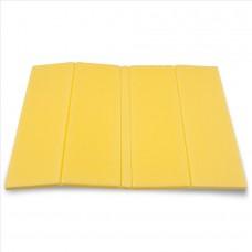 Zložljiv sedežna podloga - rumena