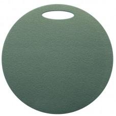 Okrogla sedežna podloga 1- plast, temno zelena