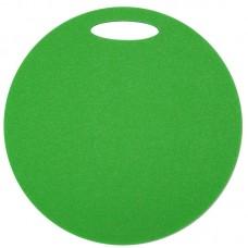 Okrogla sedežna podloga 1- plast, zelena
