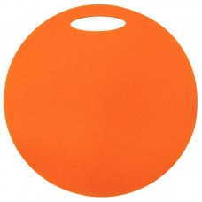 Okrogla sedežna podloga 1- plast, oranžna