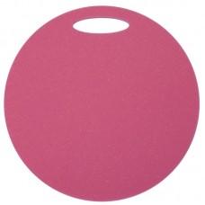 Okrogla sedežna podloga 1- plast - roza