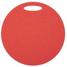 Okrogla sedežna podloga 1- plast, rdeča