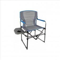 Stol za kampiranje DIRECTORS - siva / modra