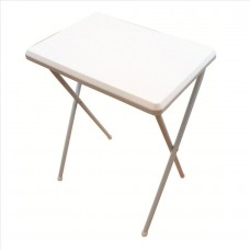 Zunanja zložljiva miza, bela majhna