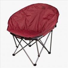 Stol za kampiranja MOON CHAIR - rdeča