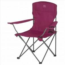 Zložljiv stol z naslonom za kampiranje MORAY - rdeča